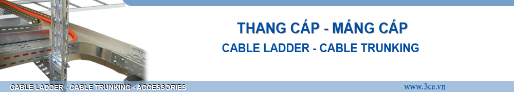 thang cap, mang cap, cable ladder trunking