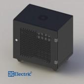 C-Rack 10U-D400 (Treo tường) - Cánh lưới - Màu đen