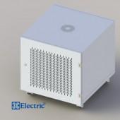 C-Rack 10U-D600 (Treo tường) - Cánh lưới - Màu trắng