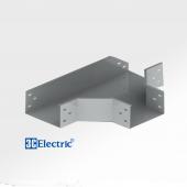 Cút nối T sơn tĩnh điện 100x50 dày 0.8