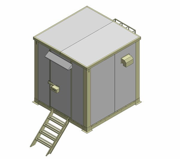 SHELTER 3C-SH2700W2160D2640T60