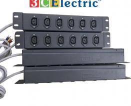 Ổ điện 06 ổ cắm chuẩn C13, có dây cáp 03m và đầu cose 1.5mm