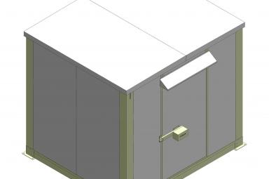Thông số kỹ thuật Nhà trạm Shelter 3C-HUB2700W2580D2980T60