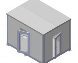 Nhà trạm Bayhousing 3C-K3000W3000D4350T60
