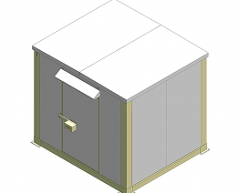 Shelter<br>3C-HUB2700W2610D3010T60
