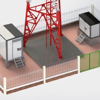 Dự án: Dựng cột ANTEN tự đứng 40m tại Hà Tĩnh