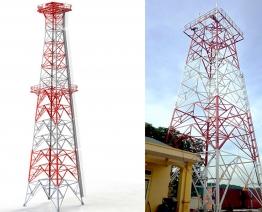 Dự án: Dựng cột ANTEN 45m tự đứng tại Nghệ An