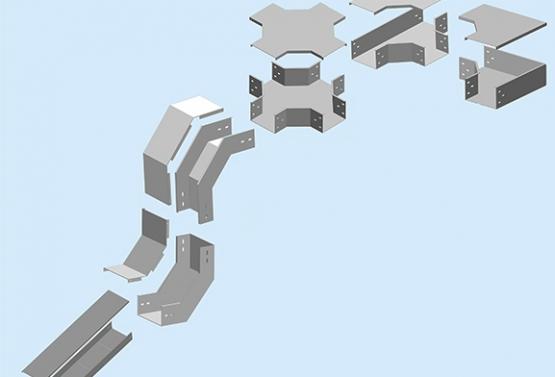 Hệ thống Máng cáp là gì? phân loại Máng cáp