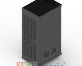 C-Rack 36U-D800 – Cánh cửa lưới – Màu đen