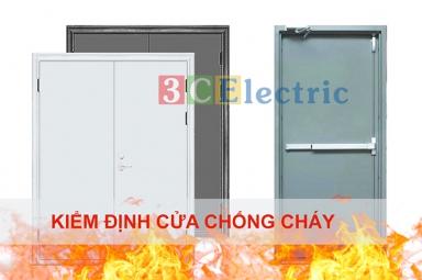 Kiểm định cửa chống cháy