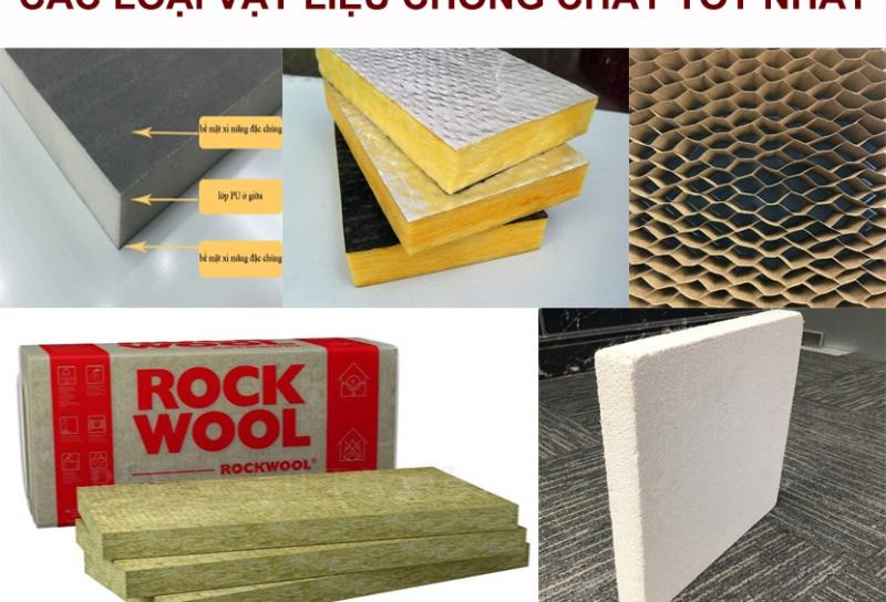 Các loại vật liệu chống cháy tốt nhất 2021
