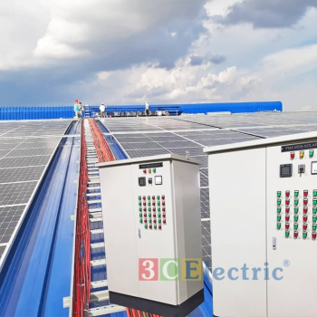 Dự án: cung cấp tủ điện solar cho các đơn vị điện năng lượng mặt trời