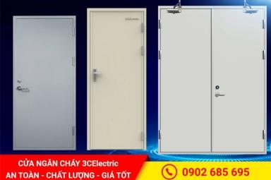 Cửa ngăn cháy | 3CElectric sản xuất & lắp đặt toàn quốc