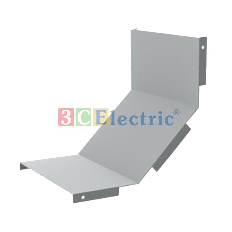 Nắp co lên máng cáp CL sơn tĩnh điện 100×50 dày 1.2