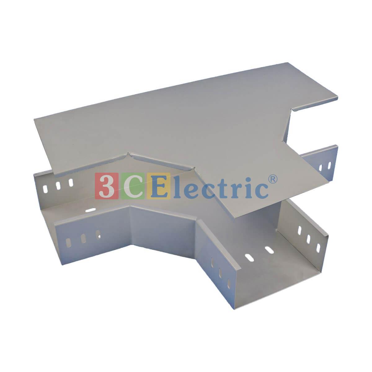 Cút nối T máng cáp sơn tĩnh điện 100×50 dày 1.2