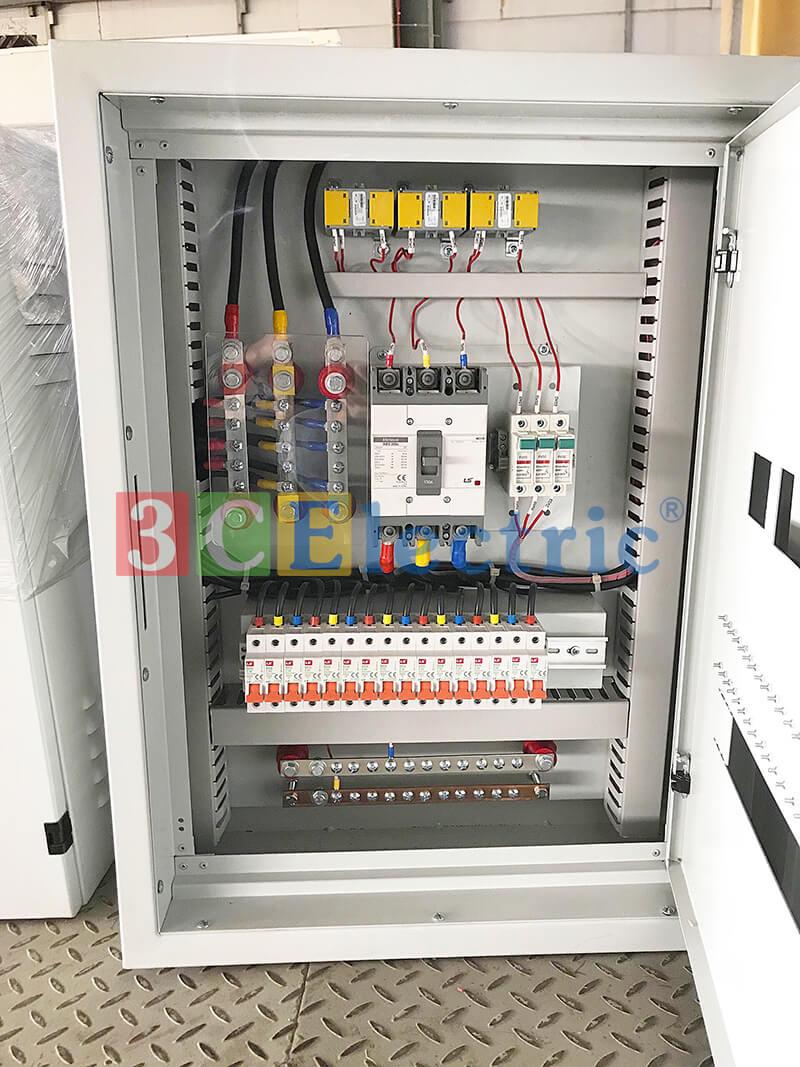 Tủ điện phân phối DB được lắp ráp tại nhà máy 3CELectric