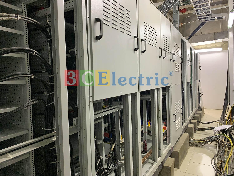 Tủ điện MSB của 3CElectric lắp đặt tại công trình