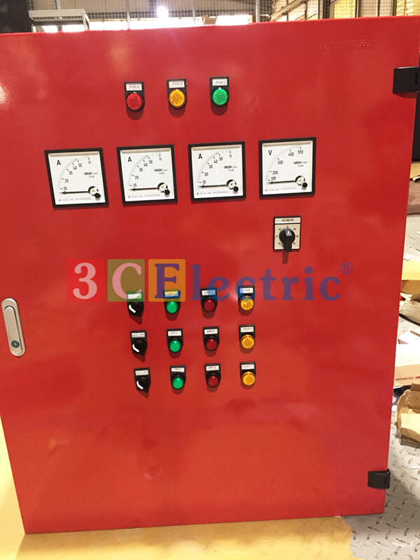 Tủ điện điều khiển động cơ bơm