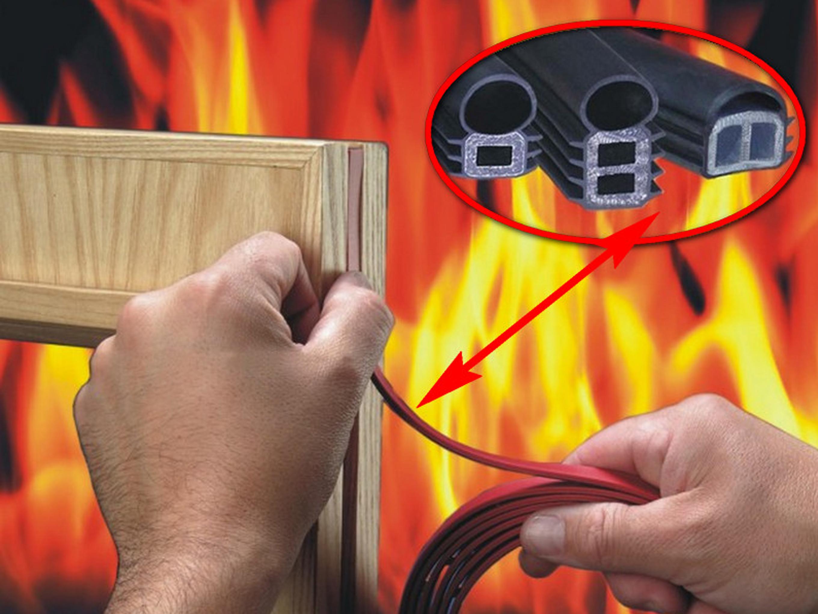 Lợi ích của cửa chống cháy và gioăng ngăn lửa