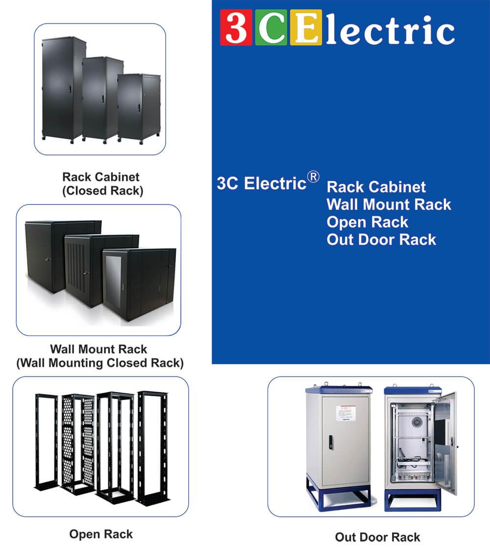 Catalog tủ rack, tủ mạng 3CElectric