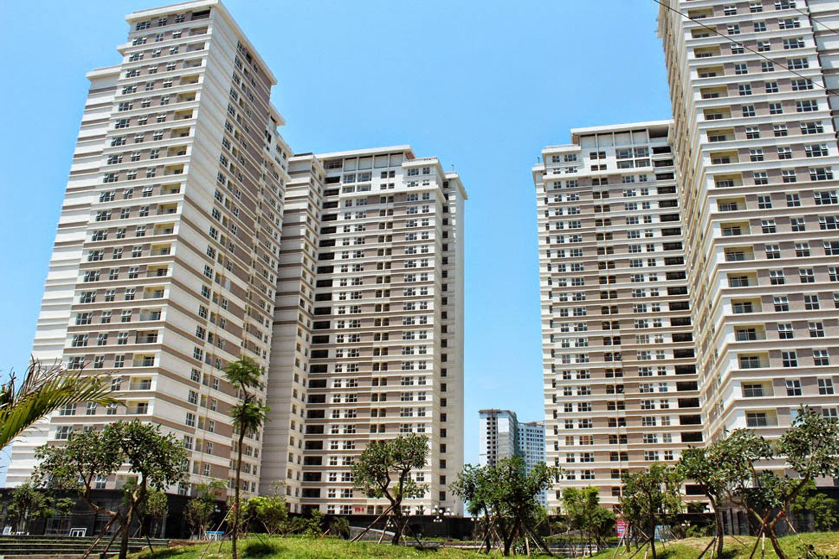 Dự án: Tổ hợp chung cư HH2 Linh Đàm