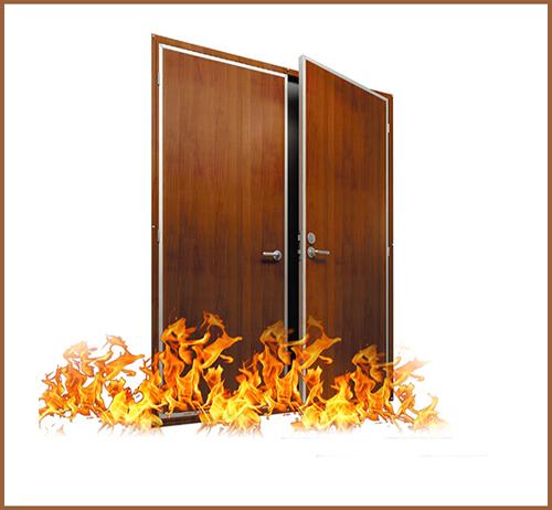 Ưu nhược điểm cửa thép vân gỗ chống cháy và cửa thép chống cháy