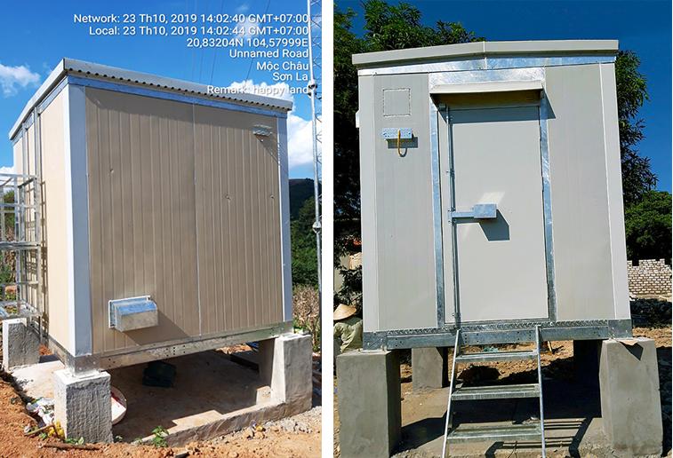 3CElectric cung cấp trạm Shelter cho các tỉnh thành trên toàn quốc