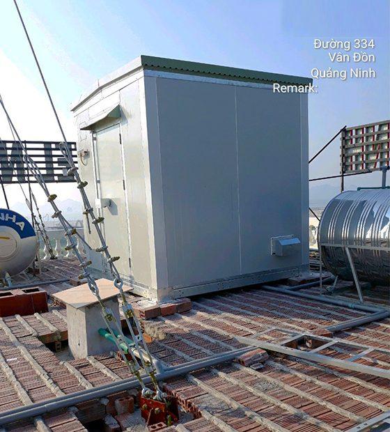 3celectric-lap-dat-tram-BTS-shelter-tại-van-don-QN