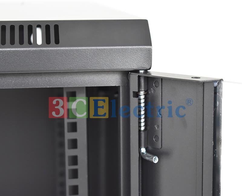 tủ rack 36U D800 màu đen cửa lưới
