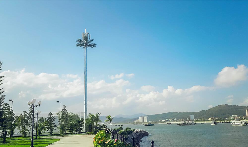 sản xuất và thi công các loại cột anten viễn thông