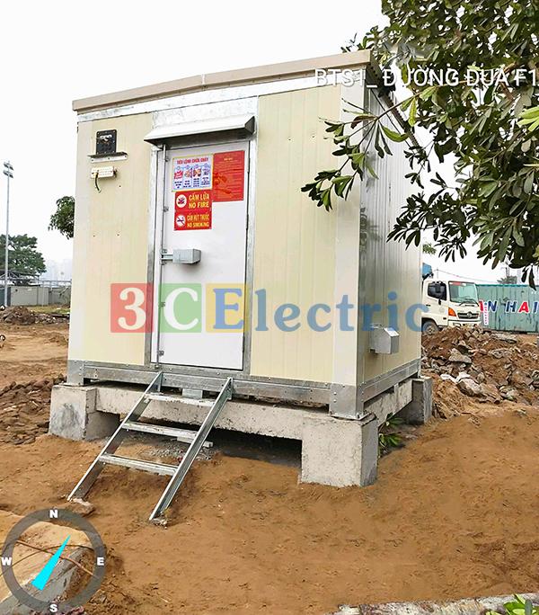 Cung cấp lắp đặt nhà trạm shelter cho tập đoàn Vingroup
