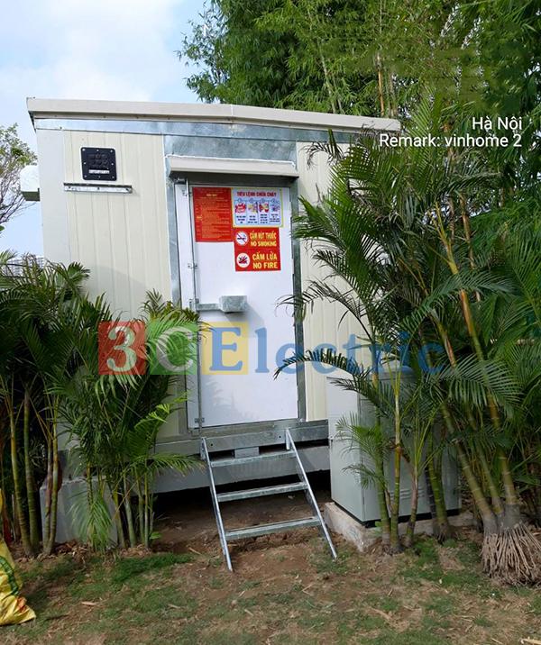 3CElectric là đơn vị cung cấp lắp đặt nhà trạm BTS shelter cho tập đoàn Vingroup trong nhiều năm qua