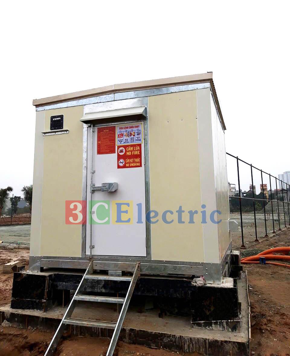 hình ảnh dự án 3CElectric cung cấp shelter cho Vingroup