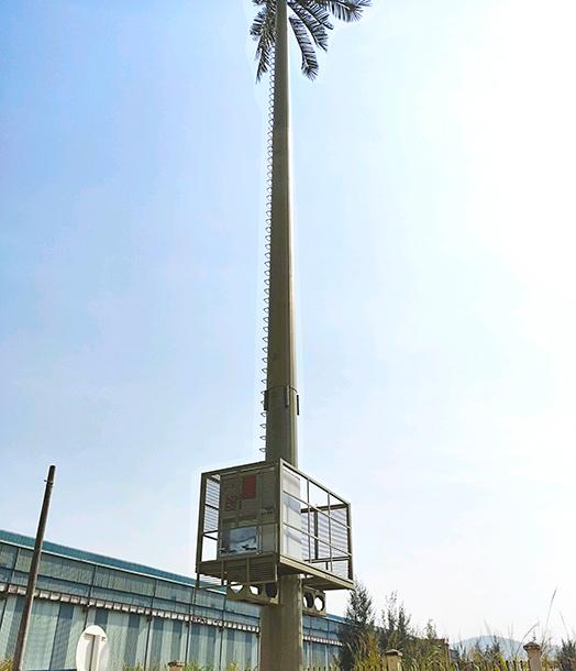 trạm bts lắp cột anten monople