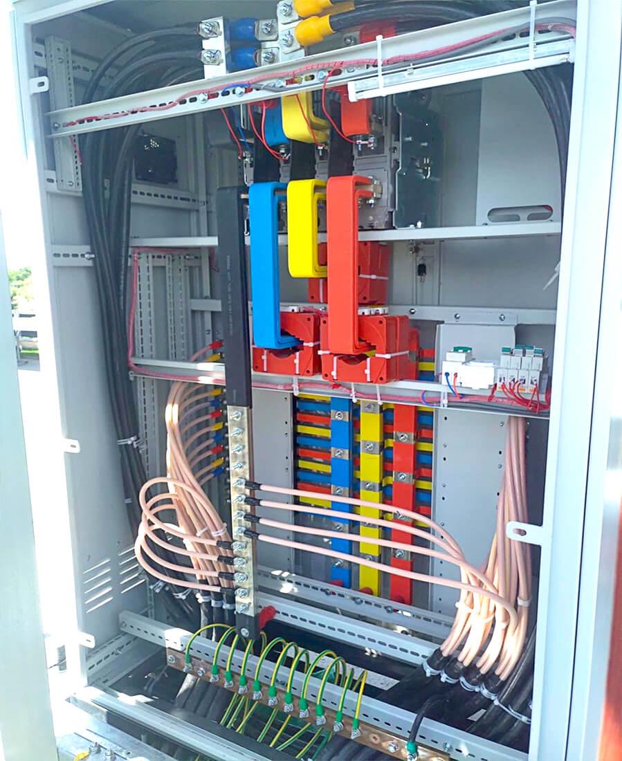Cung cấp tủ điện cho dự án năng lượng điện mặt trời