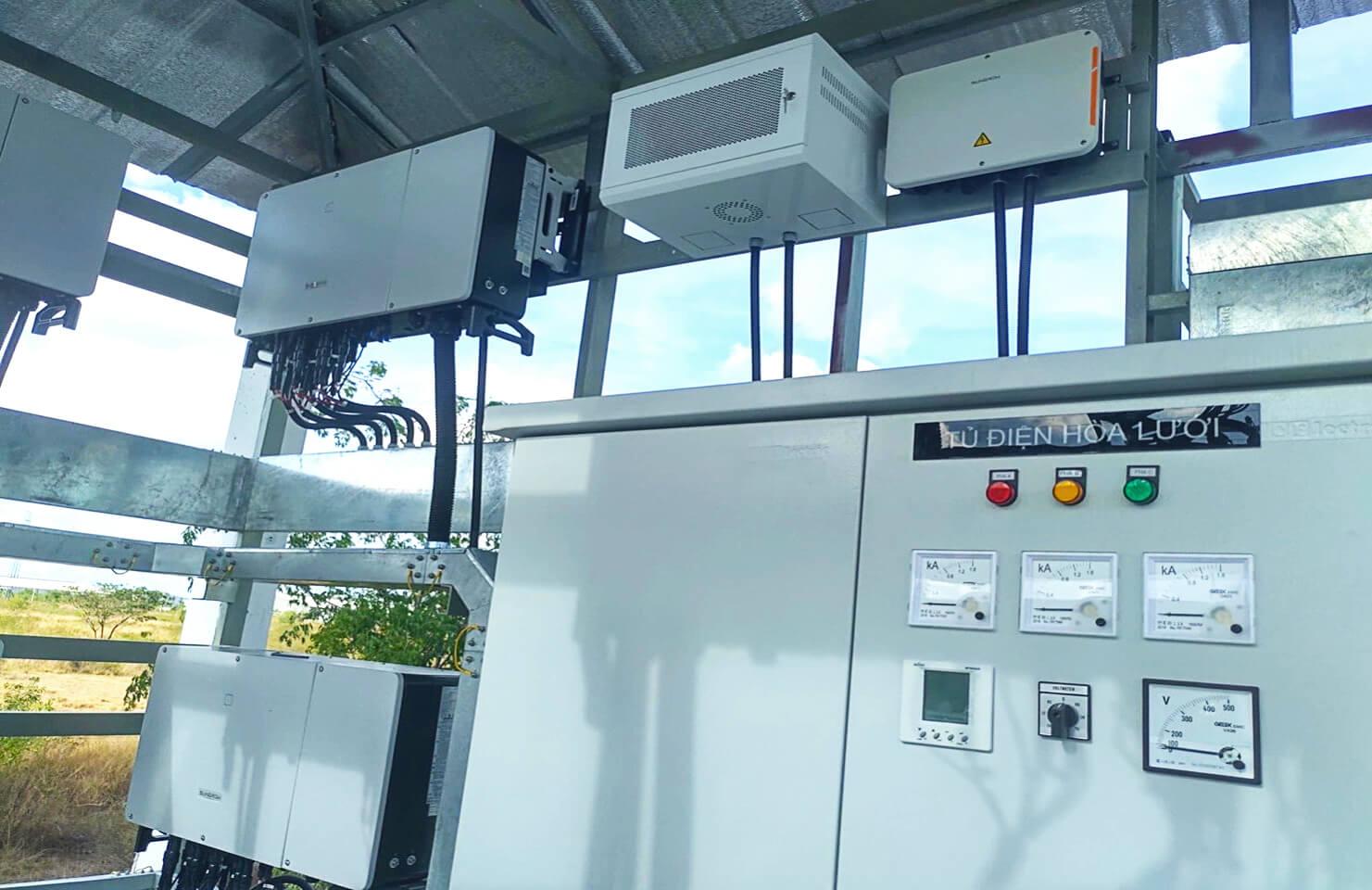 Cung cấp hệ thống tủ điện và thang máng cáp cho nhà máy SENDO