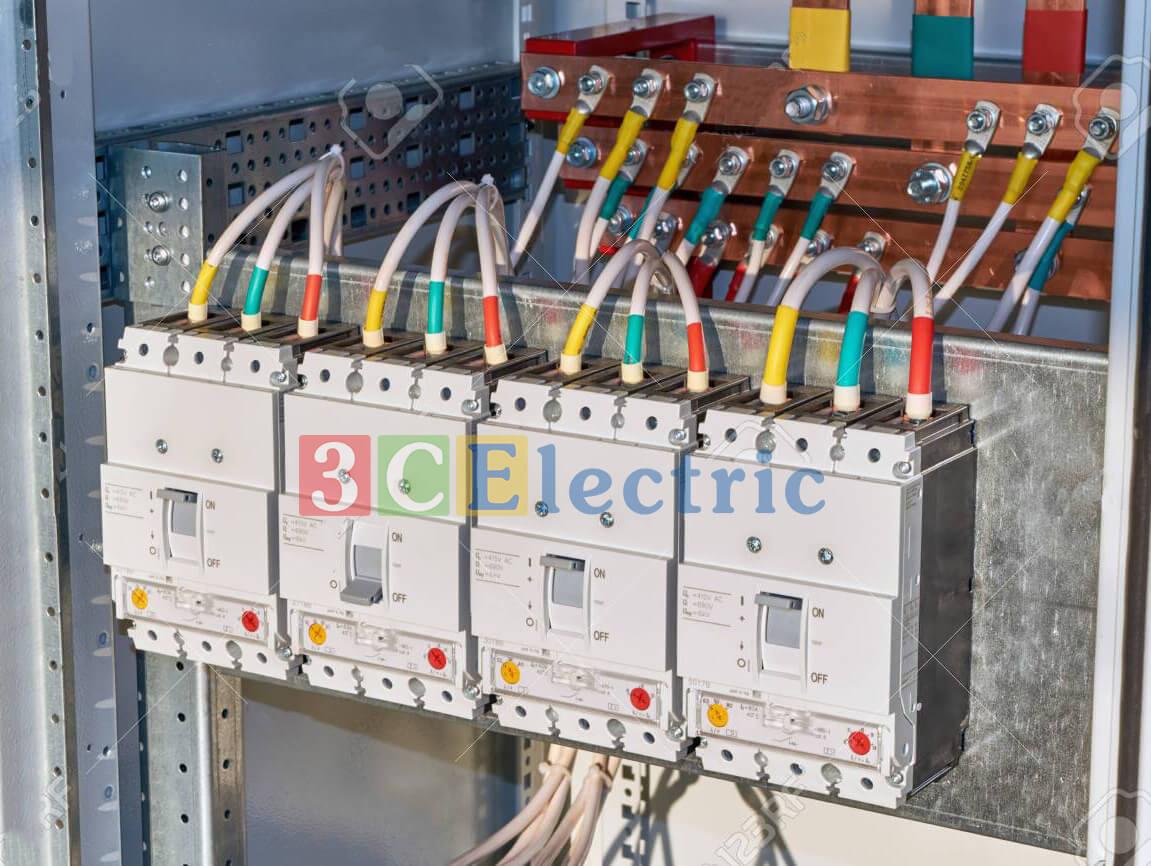 Hướng dẫn lắp thanh cái đồng vào tủ điện