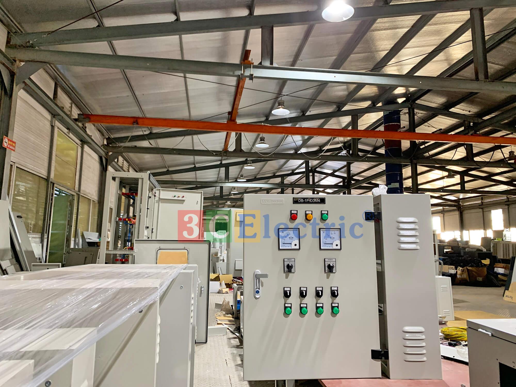 Tủ điện tại nhà máy 3CElectric