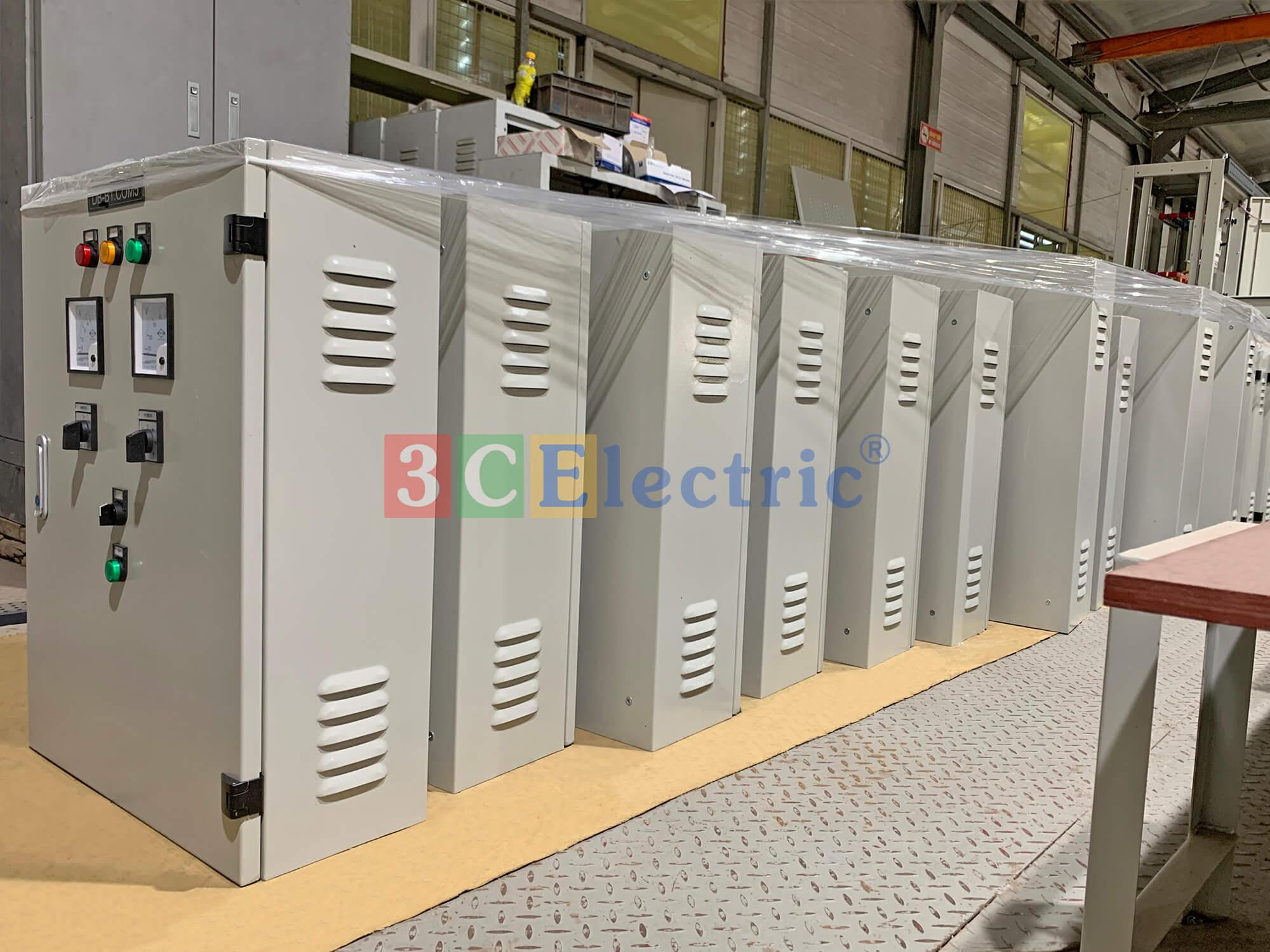 Tủ điện phân phối lắp ráp tại nhà máy 3CElectric