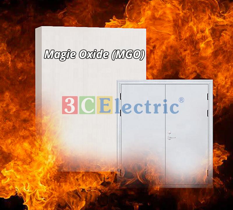 Vật liệu lõi cửa chống cháy Magie Oxit