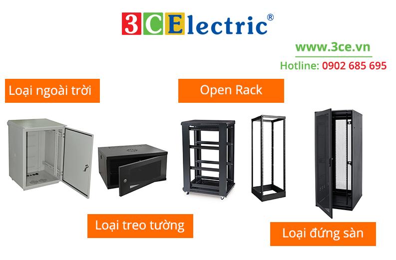 các loại tủ Rack 3CElectric sản xuất