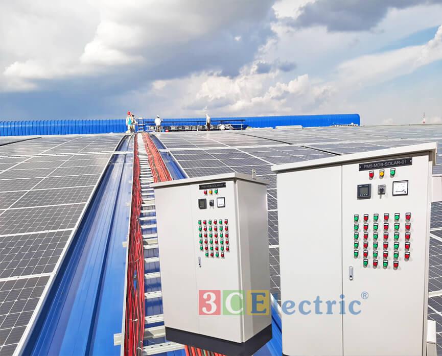 Cung cấp tủ điện solar cho các đơn vị điện năng lượng mặt trời