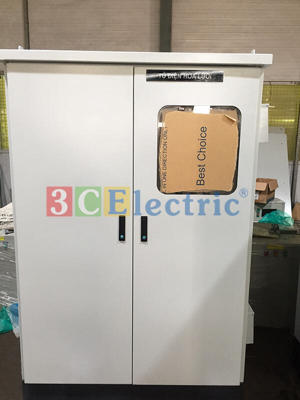 sản xuất tủ điện solar