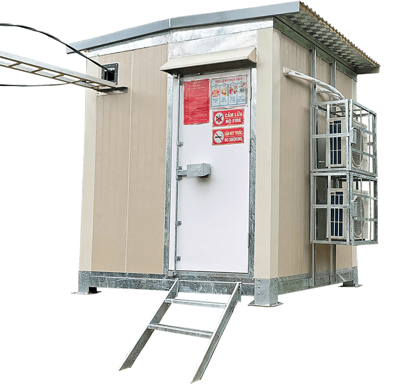 Trạm BTS shelter do 3CElectric sản xuất