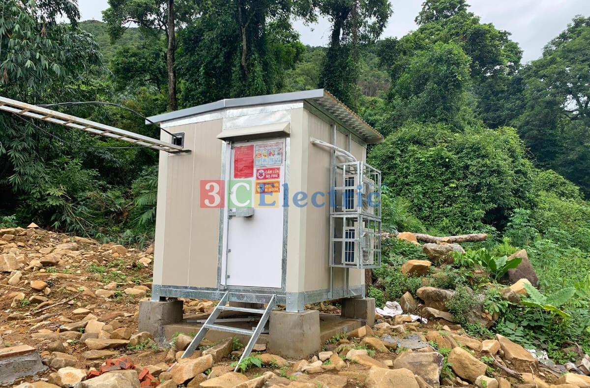 Vỏ nhà trạm BTS shelter 3CElectric sản xuất và lắp đặt toàn quốc