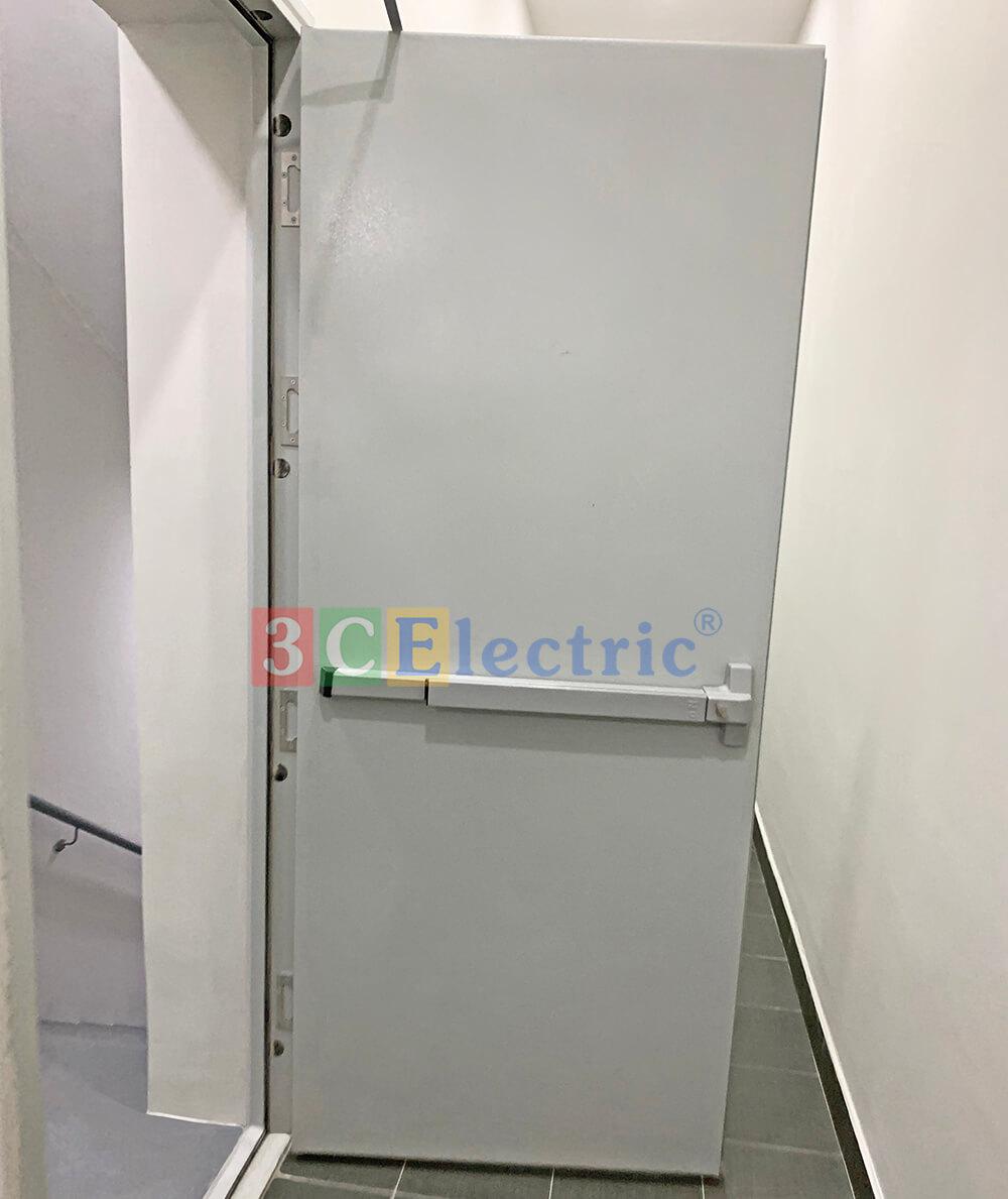 3CElectric cung cấp cửa chống cháy - cửa thoát hiểm cho khách sạn