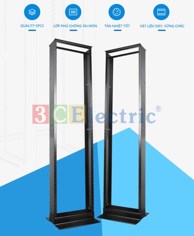 3CElectric sản xuất các loại tủ Open Rack