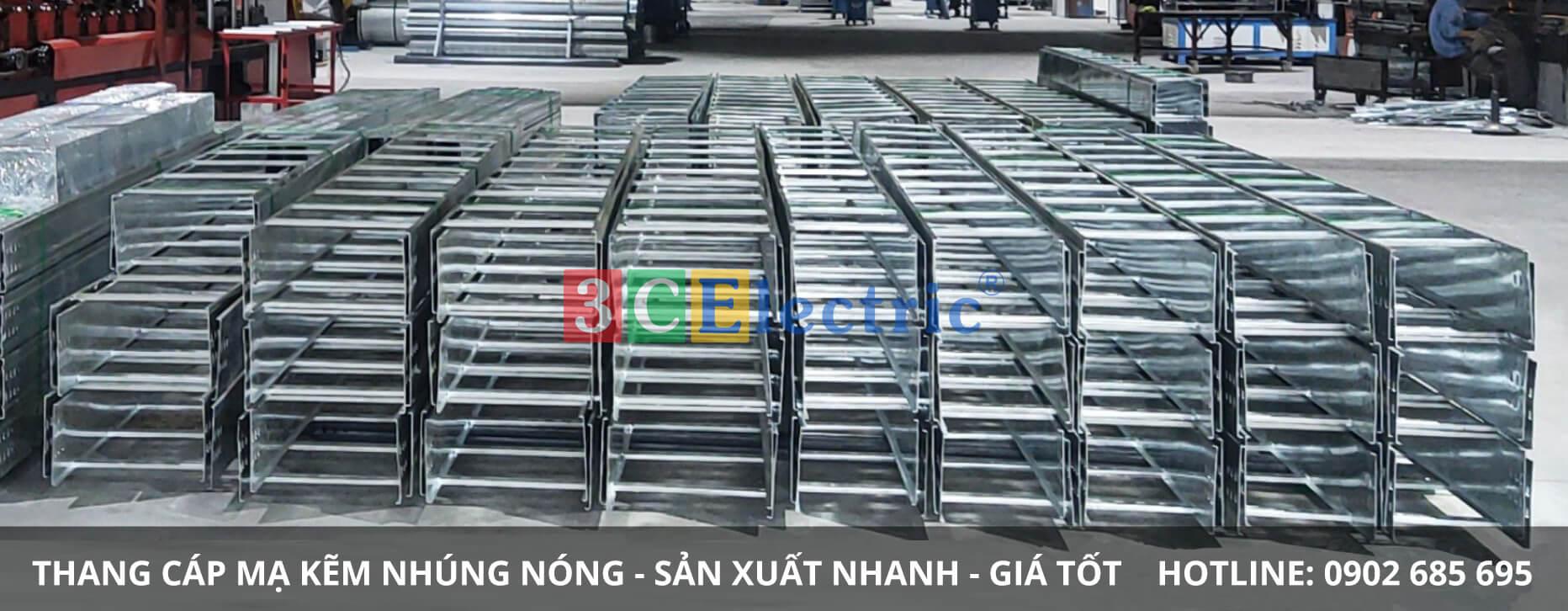 3CElectric sản xuất thang cáp mạ kẽm nhúng nóng