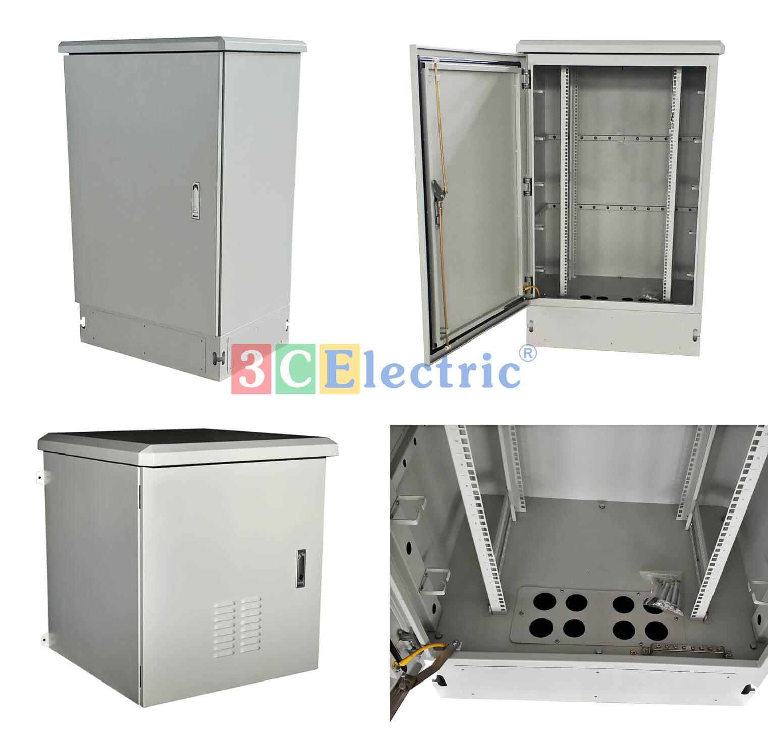 3CElectric sản xuất các loại tủ outdoor Rack