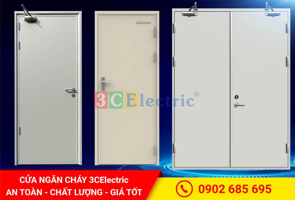 cửa ngăn cháy, cửa chống cháy 3CElectric sản xuất